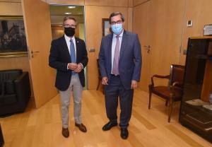 Manuel Gavilán y Pepe Entrena.