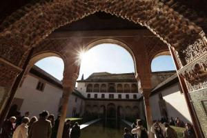 Imagen de la Alhambra, maravilla del mundo.