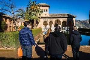 Una actividad del programa 'Alhambra en familia'.