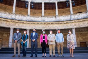 Presentación del largometraje, este miércoles en el Palacio de Carlos V.