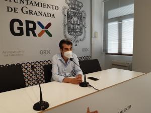 Antonio Cambril, este martes en rueda de prensa.