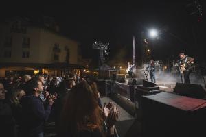Imagen del concierto de Apartamentos Acapulco el pasado año.