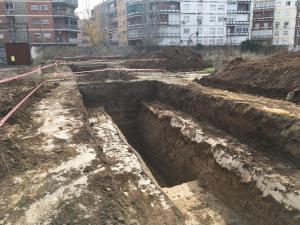 Excavaciones en los Mondragones.