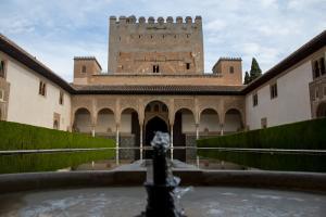 Imagen de la Alhambra durante el anterior estado de alarma.