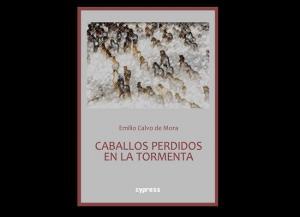 Portada de 'Caballos perdidos en la tormenta', de Emilio Calvo de Mora.
