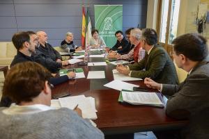 Primera reunión de la comisión de infraestructuras culturales.