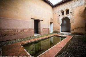 Patio de la Casa Nazarí de la Calle Real.