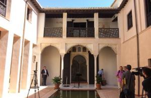 Casa de Zafra, en el Albaicín.