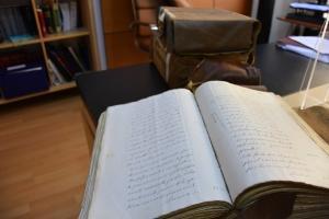 Protocolos notariales centenarios cedidos al Consistorio.