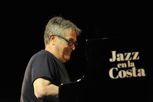 Chano Domínguez durante el concierto.