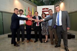 El acuerdo se ha firmado en la Diputación.