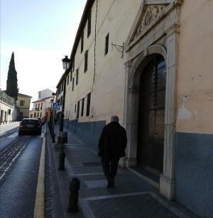 Imagen de archivo del convento de las Vistillas de los Ángeles.