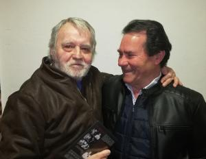 Miguel Ángel González (izquierda) junto a Francisco Manuel Díaz (derecha).