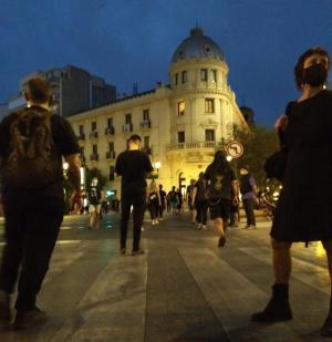 Manifestación, a mediados de septiembre, en defensa del sector.