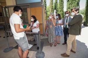Nuevo control de accesos en la Alhambra.