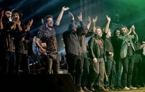 El histórico concierto que reunió a la historia reciente del rock granadino.