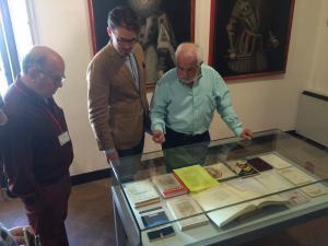La muestra recoge numerosos documentos inéditos del artista alpujarreño.