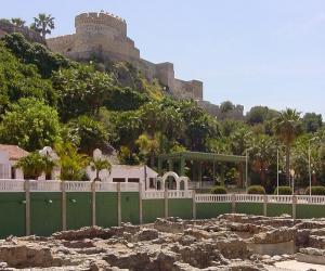 Factoría de salazones y Castillo de San Miguel.