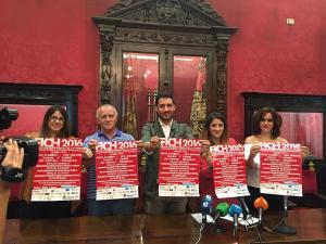 Presentación del Festival Independiente de La Chana en el Ayuntamiento.