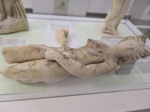 Una de las venus que se encontraron en la Villa Romana.