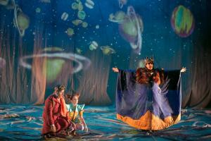 Un momento de la obra interpretada por Teatro Clásico de Sevilla.