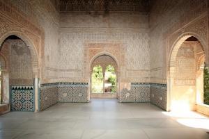Interior de la Torre e la Cautiva.