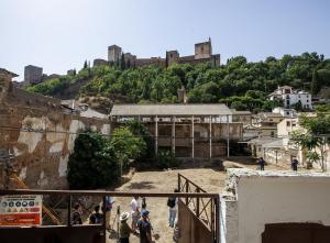 Vista del Maristán, antiguo hospital nazarí, en una imagen de archivo.