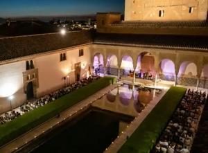 Actuación en la Alhambra en una edición anterior.