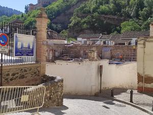 Obras en el Maristán, el antiguo hospital nazarí del Albaicín