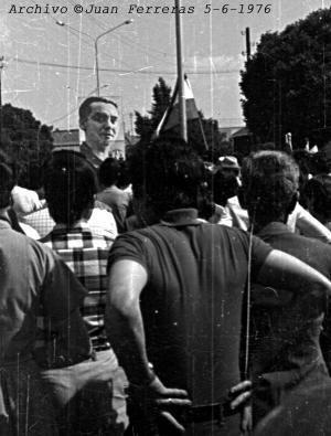 6.000 personas se dieron cita en Fuente Vaqueros aquel 1976.