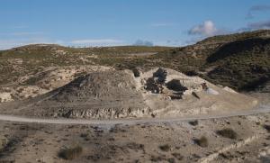 Túmulo 75 de la necrópolis, que será restaurado y recuperado.