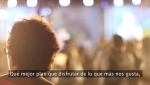 Imagen del vídeo de apoyo a la cultura realizado por Diputación.