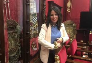 La concejal de Ciudadanos Lorena Rodríguez.