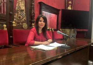 La concejal Lorena Rodríguez.