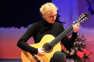 Julia Trintschuk, una de los tres finalistas.