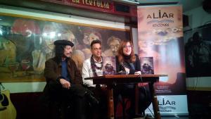Presentación en Granada de la segunda novela de Jesús Toral.