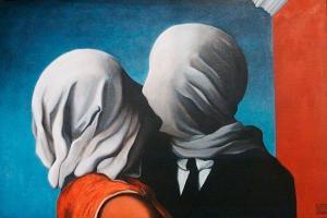 'Los amantes', de René Magritte (1928).