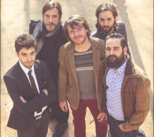 Componentes del grupo granadino Los Térmicos.