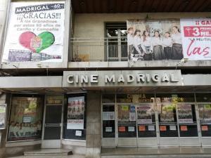 El cine Madrigal de Granada.