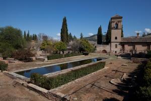 Medina, en la Alhambra.