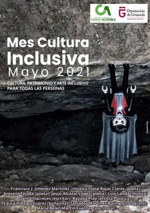 Cartel del 'Mes de la cultura inclusiva'.