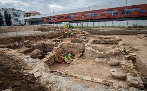 Trabajos arqueológicos en Los Mondragones.