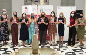 Presentación del disco, con algunas de las participantes.