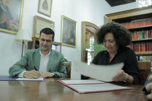 Pilar Aranda y Francisco Cuenca.