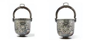 Pieza de plata de 1634 que perteneció al convento granadino y que sale ahora a subasta.