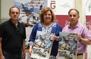 Presentación del concurso de pintura de la Alpujarra.