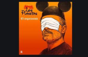 Portada de 'El negacionista', de Los Planetas.