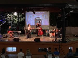 Imagen de una de las veladas del festival.