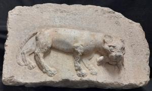 Relieve del famoso gato con ratón que dio nombre al Callejón del Gato, en el Albayzín, a partir del siglo XVII.