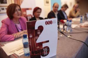 Representantes institucionales y de la OCG en la presentación de la temporada.